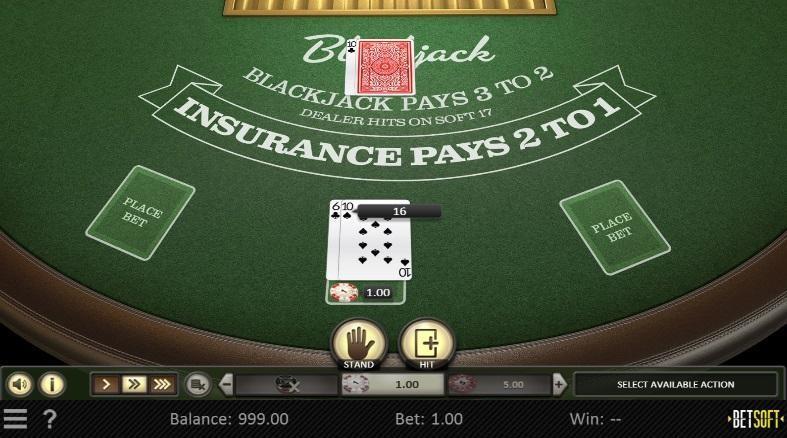Drake Casino Automated Blackjack