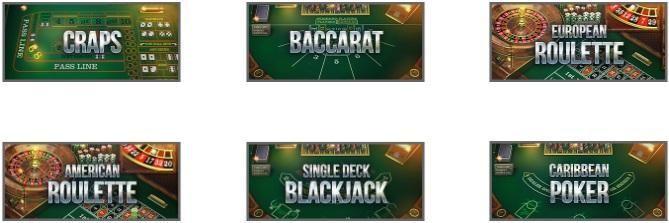 Drake Casino Automated Casino Table Games