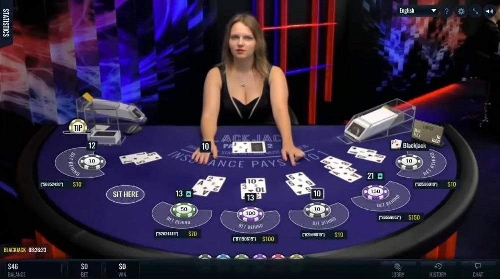 Drake Casino Live Blackjack