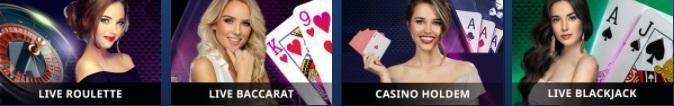 Drake Casino Live Casino Games