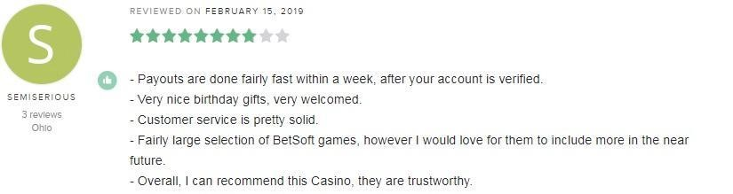 Drake Casino Player Review 5