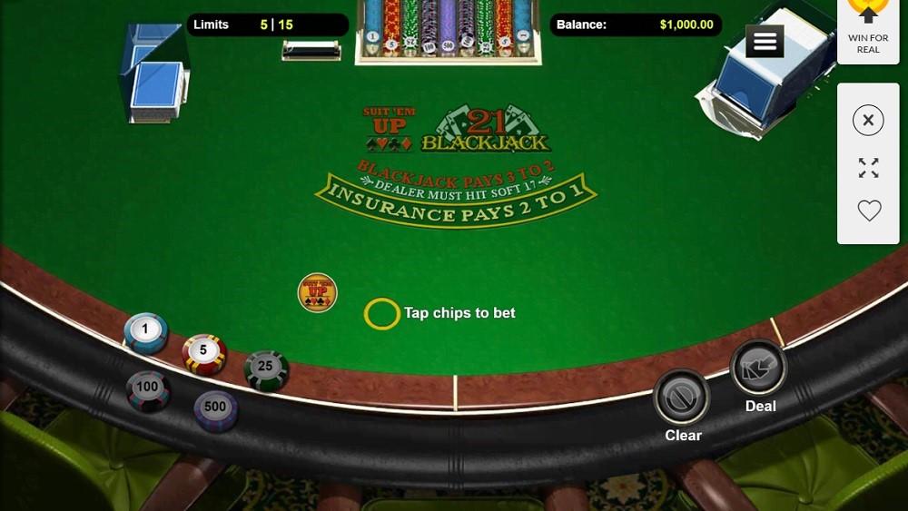 Dreams Casino Automated Blackjack