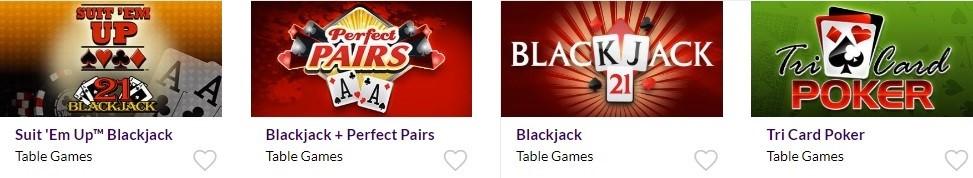 Dreams Casino Automated Casino Table Games