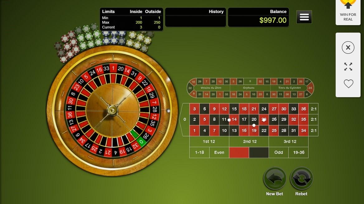 Dreams Casino Automated Roulette
