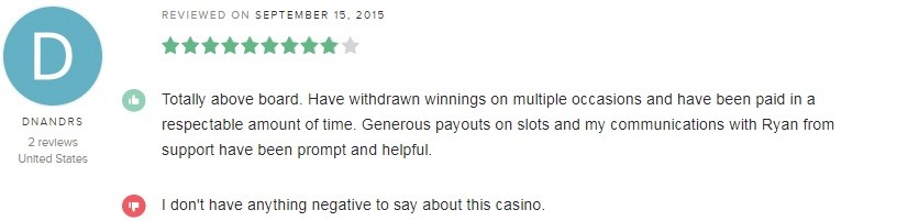 Dreams Casino Player Review
