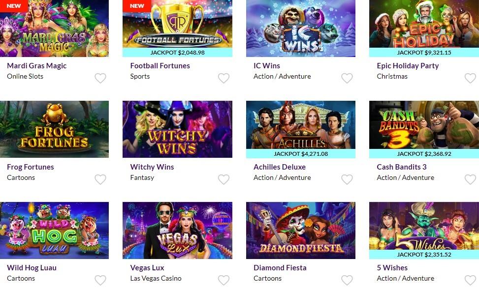 Dreams Casino Slots