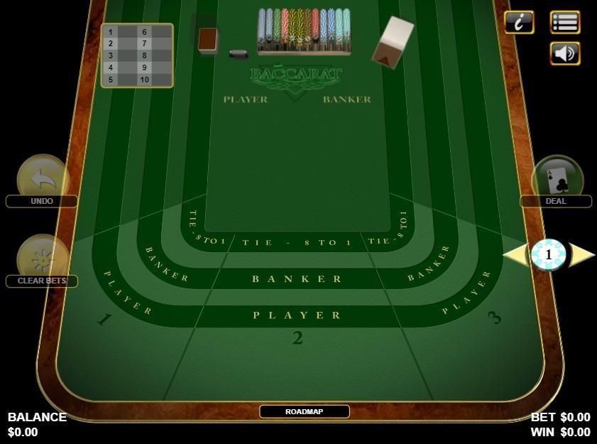 Emu Casino Automated Baccarat