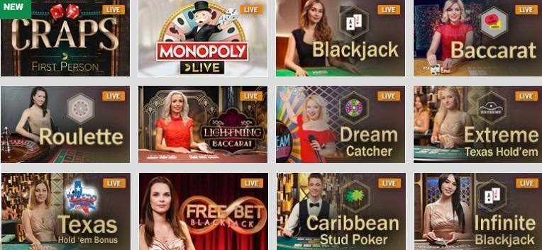 Emu Casino Live Casino Review
