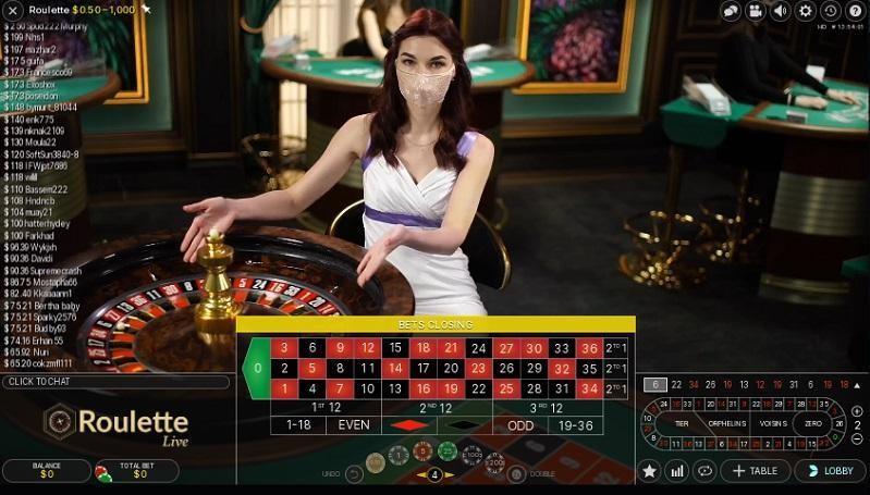 Emu Casino Live Roulette