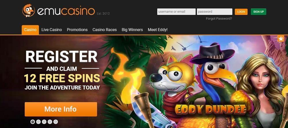 Emu Casino Review