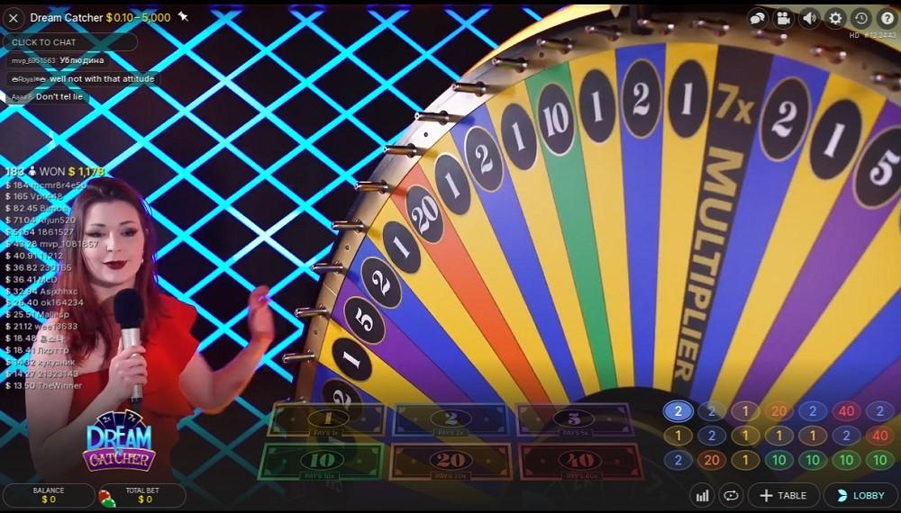 Foxy Casino Live Game Show