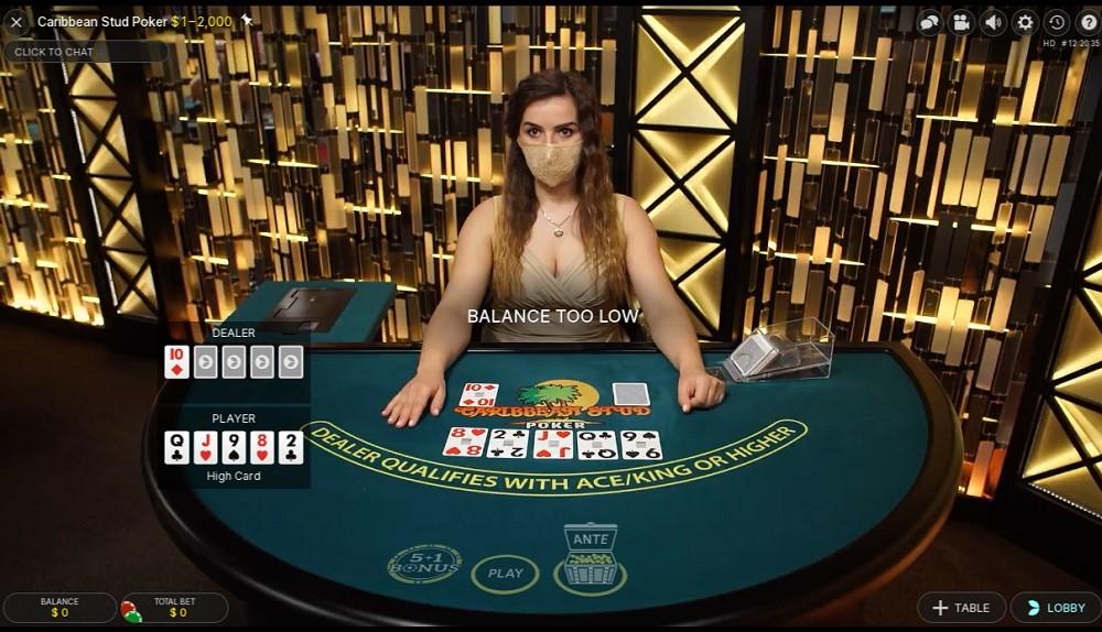 Foxy Casino Live Poker