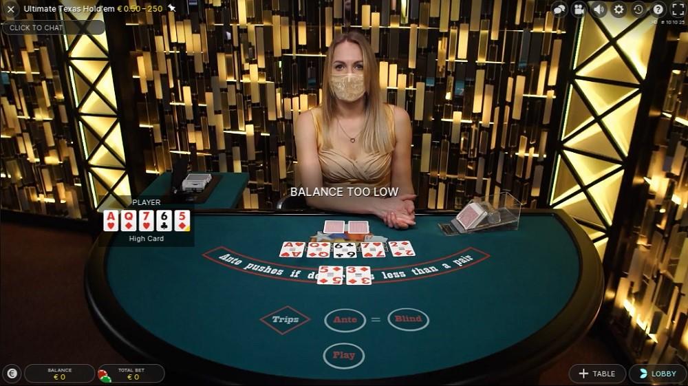 Frank Casino Live Poker