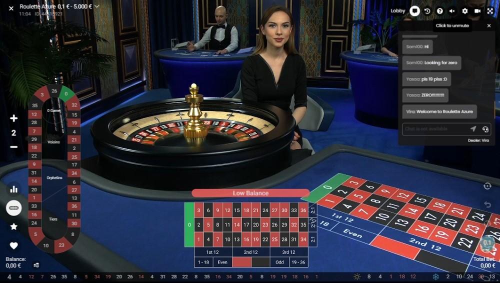 Frank Casino Live Roulette
