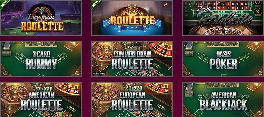 Hallmark Casino Automated Casino Table Games