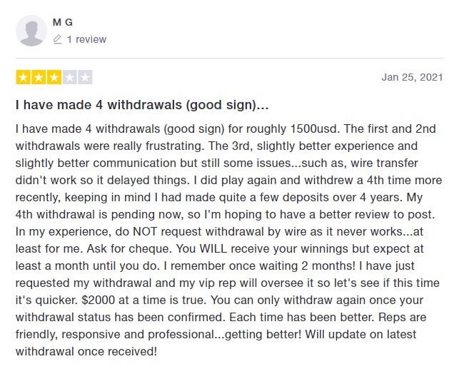 Hallmark Casino Player Review