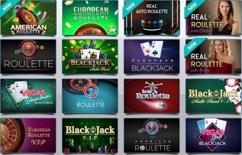 Karamba Casino Automated Casino Table Games