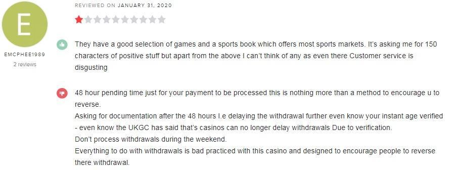 Karamba Casino Player Review 4