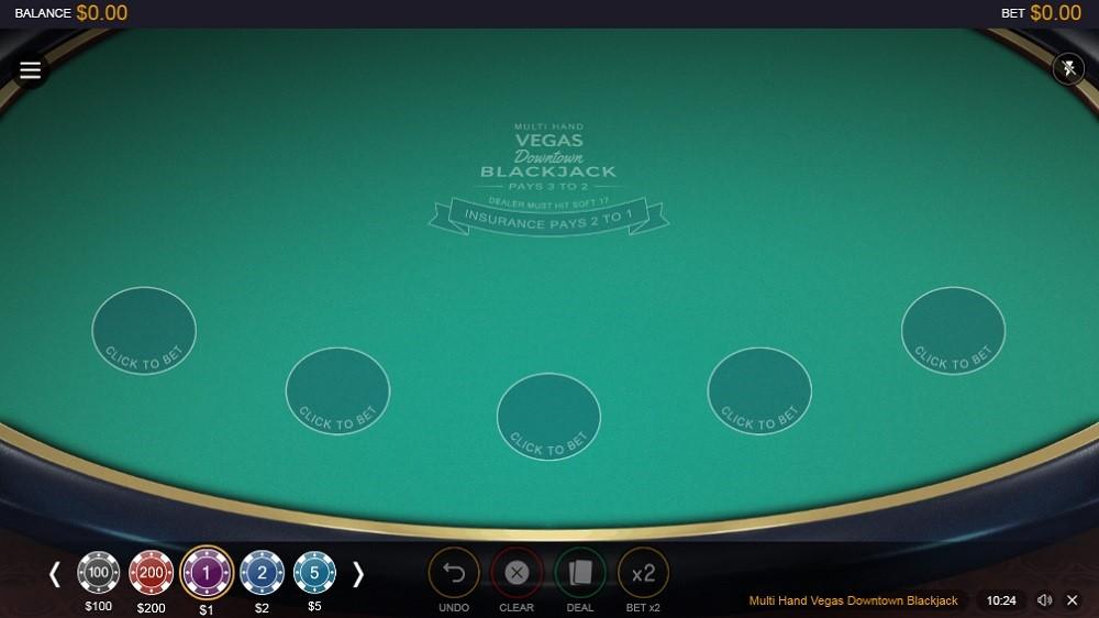 Lucky Days Casino Automated Blackjack