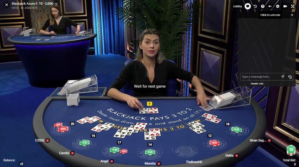 Lucky Days Casino Live Blackjack