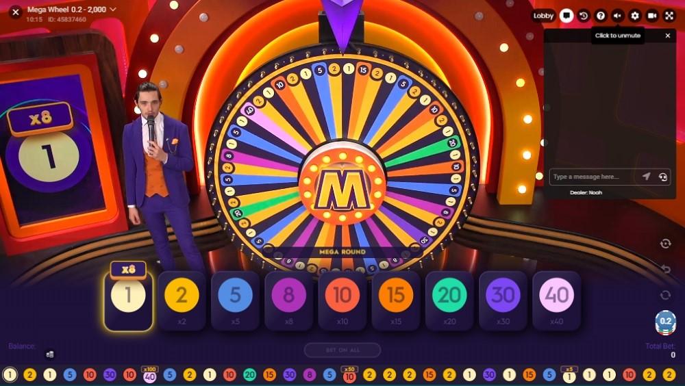 Lucky Days Casino Live Game Show
