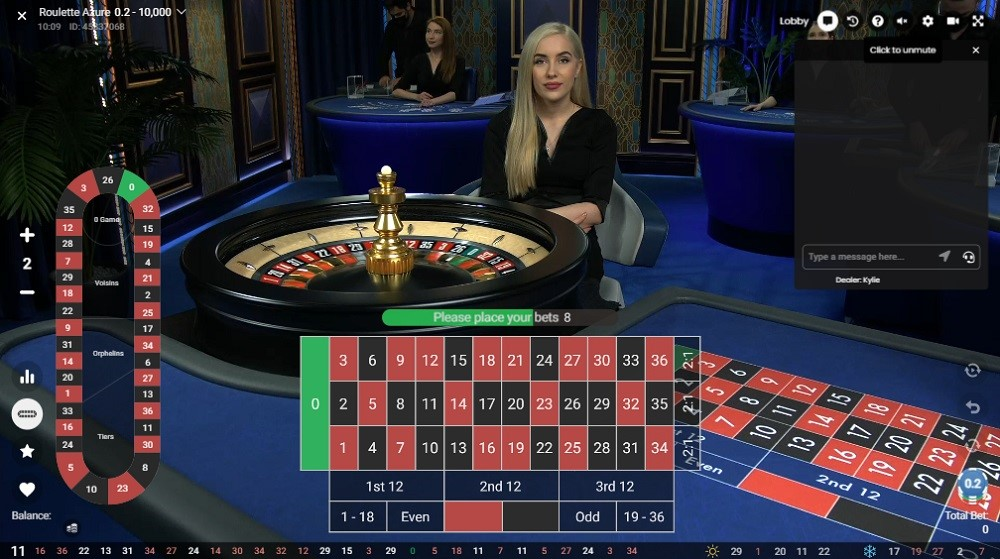 Lucky Days Casino Live Roulette