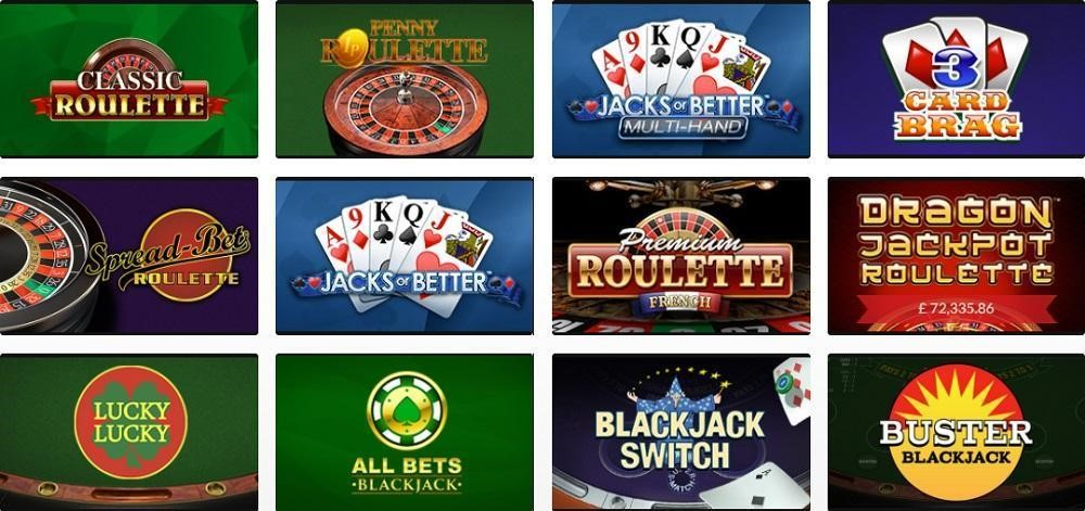 Mansion Casino Automated Casino Table Games