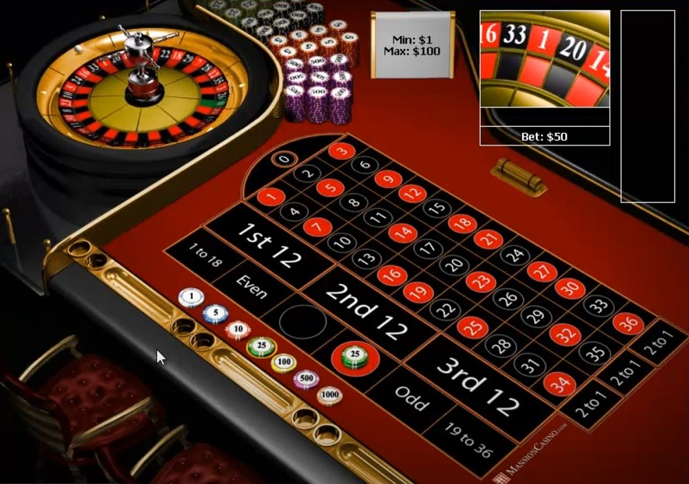 Mansion Casino Automated Roulette