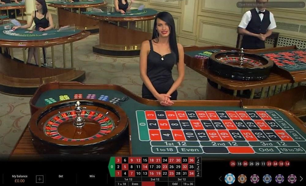 Mansion Casino Live Roulette
