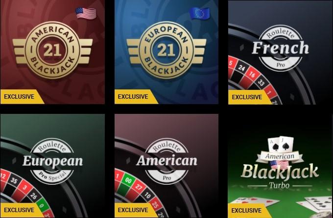 Mega Casino Automated Casino Table Games