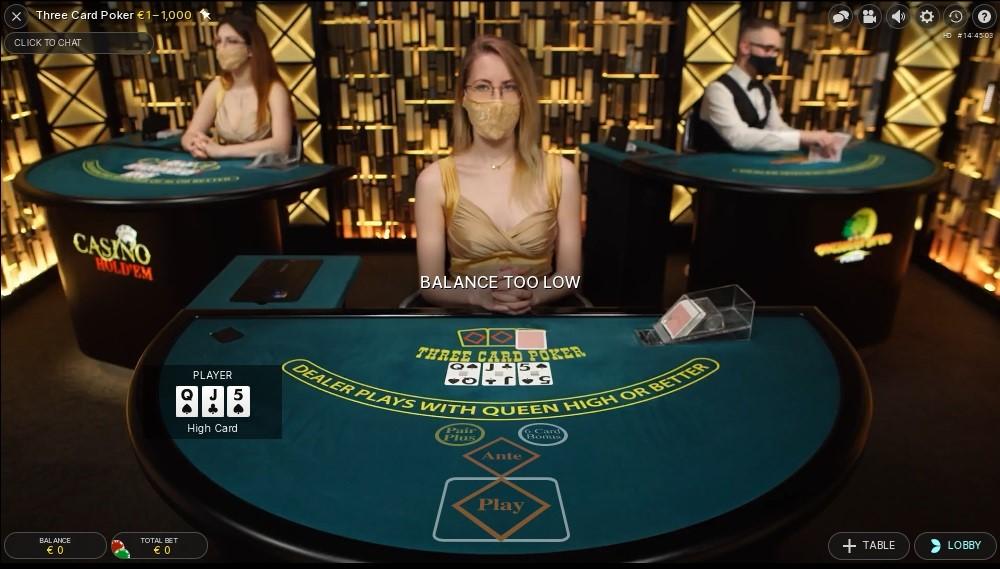 Mega Casino Live Poker