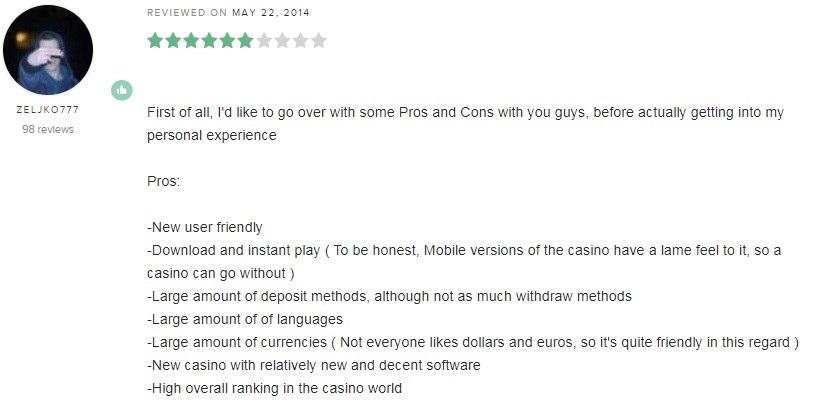 Mega Casino Player Review 5