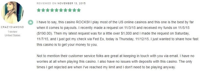 Miami Club Casino Player Review 5