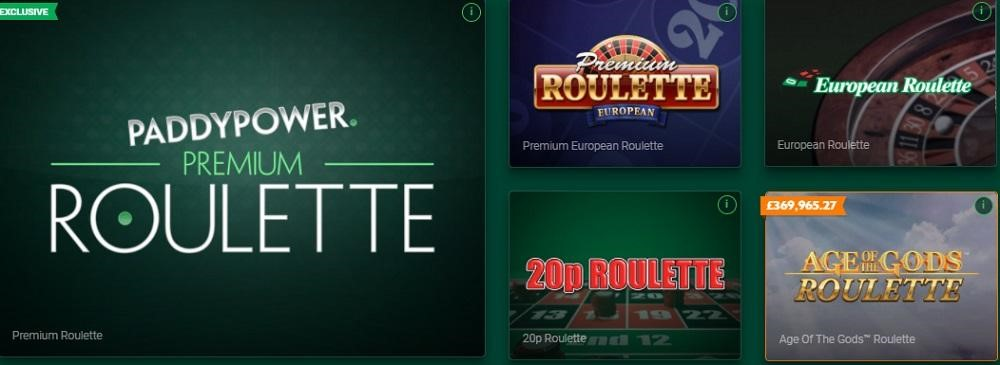 Paddy Power Casino Automated Casino Table Games
