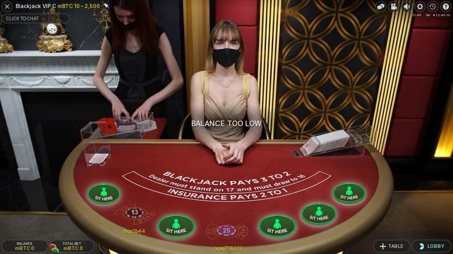 Paddy Power Casino Live Blackjack