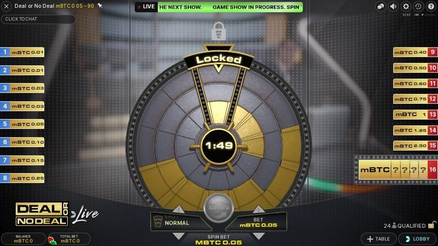 Paddy Power Casino Live Game Show