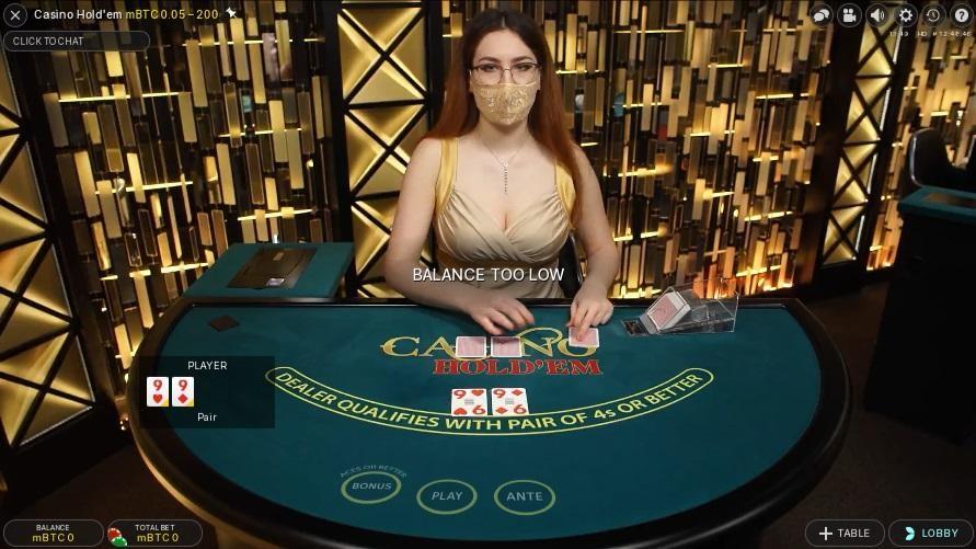 Paddy Power Casino Live Poker