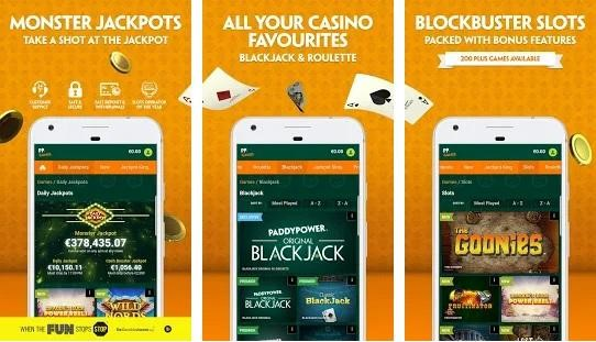 Paddy Power Casino Mobile Play