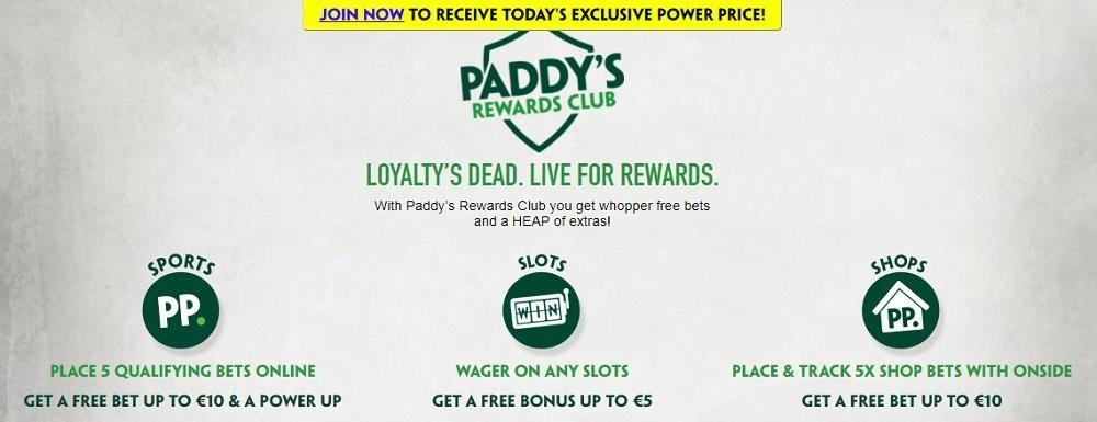 Paddy Power Casino Rewards Program