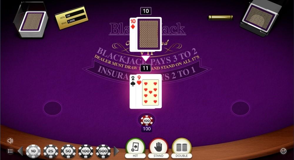 Pronto Casino Automated Blackjack