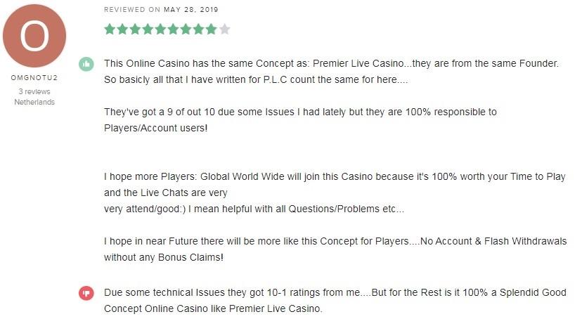 Pronto Casino Player Review 2