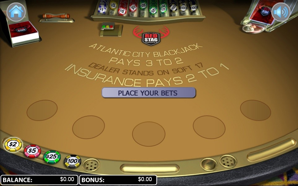 Red Stag Casino Automated Blackjack