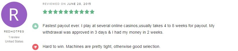 Royal Ace Casino Player Review