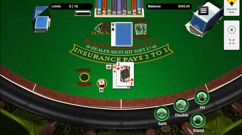 Silver Oak Casino Automated Blackjack