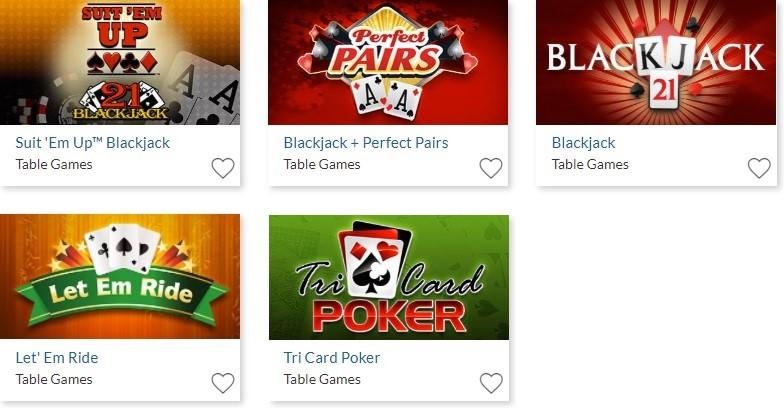 Silver Oak Casino Automated Casino Table Games