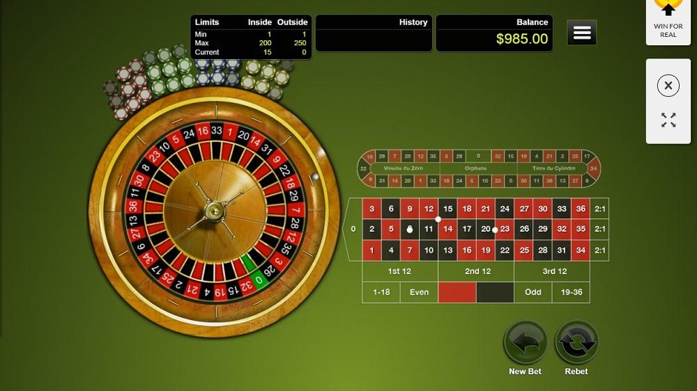 Silver Oak Casino Automated Roulette