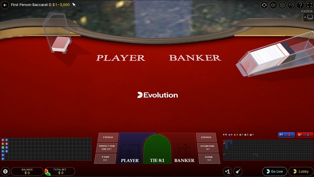 Woo Casino Automated Baccarat