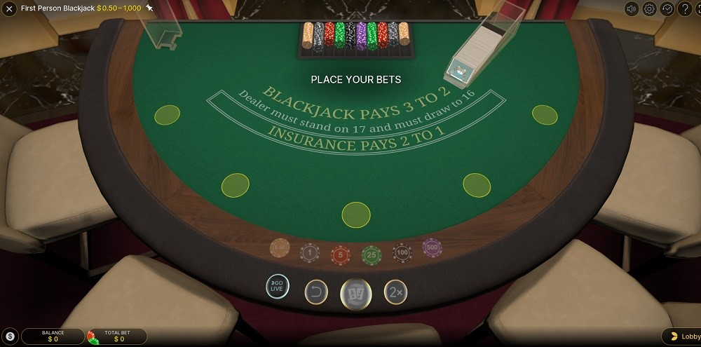 Woo Casino Automated Blackjack