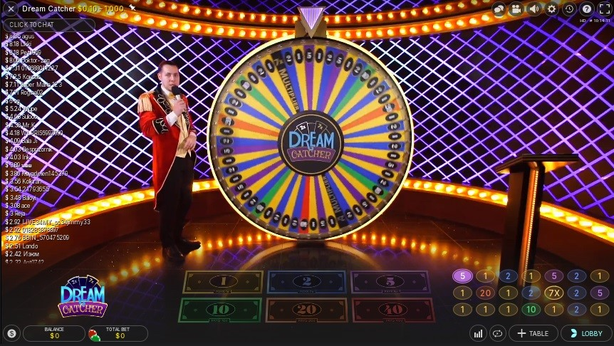 Woo Casino Live Game Show