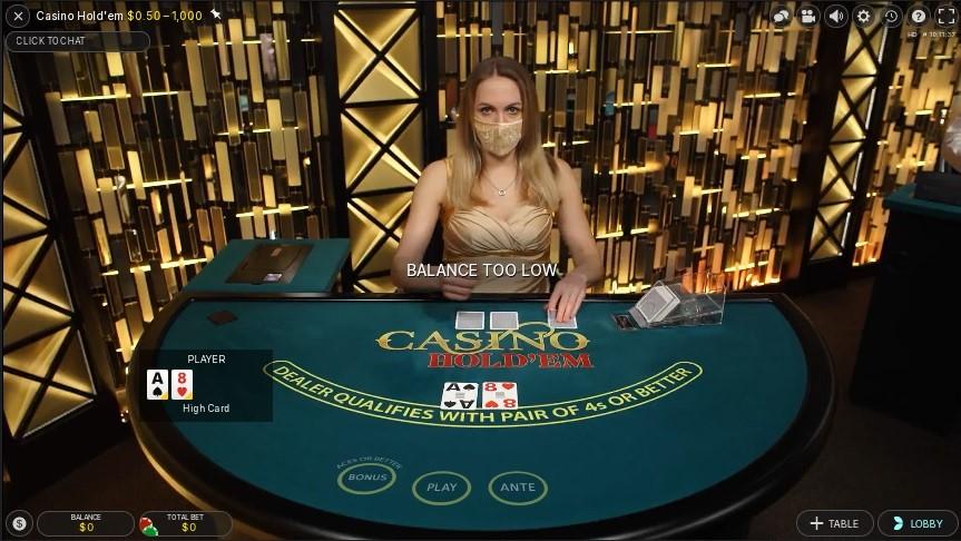 Woo Casino Live Poker